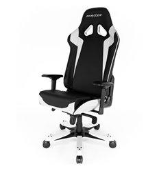 Кресло DXRacer OH/SJ00/NW Sentinel Series, компьютерное, экокожа, цвет черный/белый