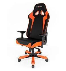 Кресло DXRacer OH/SJ00/NO Sentinel Series, компьютерное, экокожа, цвет черный/оранжевый