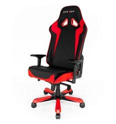 Кресло DXRacer OH/SJ00/NR Sentinel Series, компьютерное, экокожа, цвет черный/красный