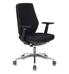 Кресло Бюрократ CH-545/LUX/26-B01 для оператора, хром, ткань, цвет черный