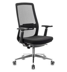 Кресло Бюрократ MC-915/B/26-B01 для руководителя, сетка/ткань, цвет черный