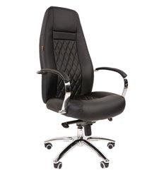 Кресло CHAIRMAN 950 для руководителя, экокожа, цвет черный