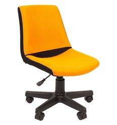 Кресло CHAIRMAN KIDS 115 Orange детское, ткань, цвет черный/оранжевый