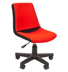 Кресло CHAIRMAN KIDS 115 Red детское, ткань, цвет черный/красный