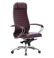 Кресло Samurai KL-1.04 темно-бордовый для руководителя