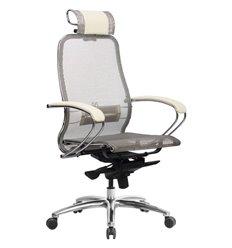 Кресло Samurai S-2.04 бежевый для руководителя, сетка