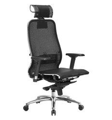 Кресло Samurai S-3.04 черный плюс для руководителя, сетка