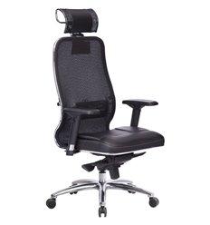 Кресло Samurai SL-3.04 черный плюс для руководителя, сетчатая спинка