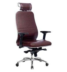 Кресло Samurai KL-3.04 темно-бордовый для руководителя