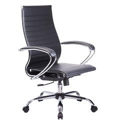 Кресло Метта Комплект 10 черный для руководителя, NewLeather