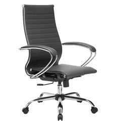 Кресло Метта Комплект 10.2 черный для руководителя, экокожа