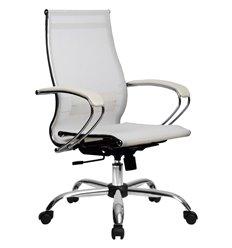 Кресло Метта Комплект 9 белый для руководителя, сетка