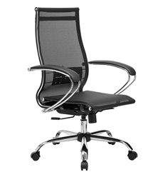 Кресло Метта Комплект 9 черный для руководителя, сетка