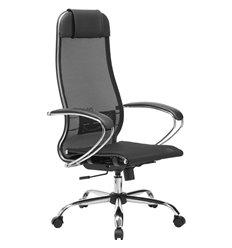 Кресло Метта Комплект 12 черный для руководителя, сетка