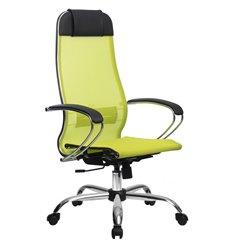 Кресло Метта Комплект 12 зеленый для руководителя, сетка
