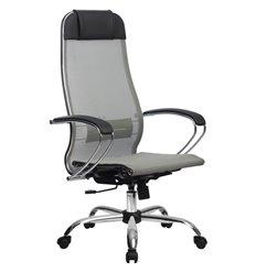 Кресло Метта Комплект 12 светло-серый для руководителя, сетка