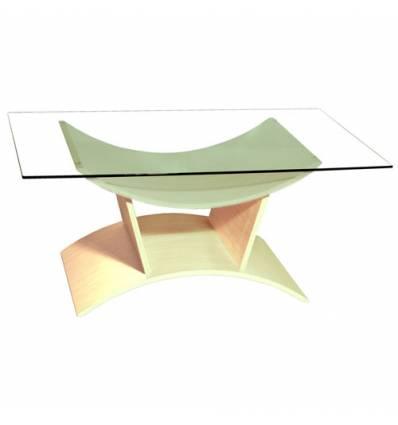 Стол КРОНИД Колизей-1 журнальный из стекла