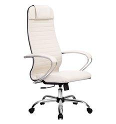 Кресло Метта Комплект 6.1 белый для руководителя, NewLeather