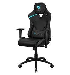 Кресло ThunderX3 TC3 Jet Black для геймеров, экокожа, цвет черный