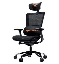 Кресло COUGAR Argo Black компьютерное игровое, сетка/экокожа, цвет черный