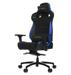 Кресло Vertagear P-Line PL4500 Black/Blue компьютерное игровое, ткань/экокожа, цвет черный/синий