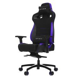 Кресло Vertagear P-Line PL4500 Black/Purple компьютерное игровое, ткань/экокожа, цвет черный/фиолетовый