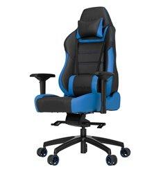 Кресло Vertagear P-Line PL6000 Black/Blue компьютерное игровое, экокожа, цвет черный/синий