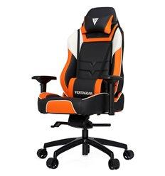 Кресло Vertagear P-Line PL6000 Black/Orange компьютерное игровое, экокожа, цвет черный/оранжевый