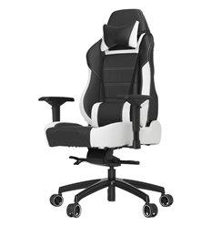 Кресло Vertagear P-Line PL6000 Black/White компьютерное игровое, экокожа, цвет черный/белый