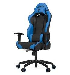 Кресло Vertagear S-Line SL2000 Black/Blue компьютерное игровое, экокожа, цвет черный/синий