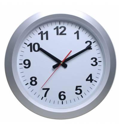 Часы Бюрократ WALLC-R010P/SILVER настенные аналоговые, цвет серый