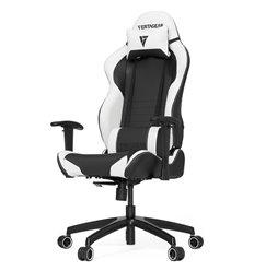 Кресло Vertagear S-Line SL2000 Black/White компьютерное игровое, экокожа, цвет черный/белый