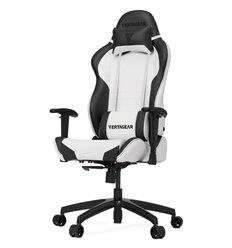 Кресло Vertagear S-Line SL2000 White/Black компьютерное игровое, экокожа, цвет белый/черный