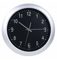 Часы Бюрократ WALLC-R02Р/SILVER  настенные аналоговые, цвет серый