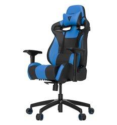 Кресло Vertagear S-Line SL4000 Black/Blue компьютерное игровое, экокожа, цвет черный/синий