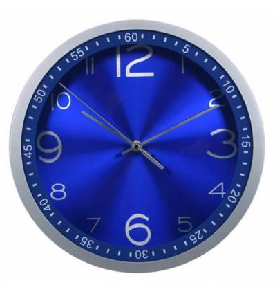 Часы Бюрократ WALLC-R05P/BLUE настенные  аналоговые, цвет синий