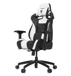 Кресло Vertagear S-Line SL4000 Black/White компьютерное игровое, экокожа, цвет черный/белый