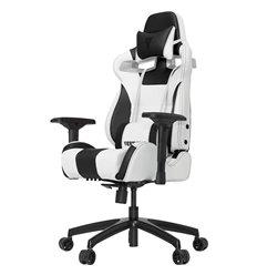 Кресло Vertagear S-Line SL4000 White/Black компьютерное игровое, экокожа, цвет белый/черный