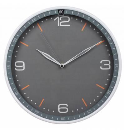 Часы Бюрократ WALLC-R06P/GRAY настенные  аналоговые, цвет серый