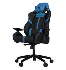 Кресло Vertagear S-Line SL5000 Black/Blue компьютерное игровое, экокожа, цвет черный/синий