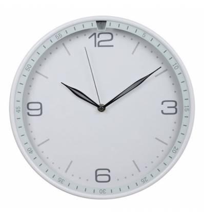 Часы Бюрократ WALLC-R07P/WHITE  настенные  аналоговые, цвет белый
