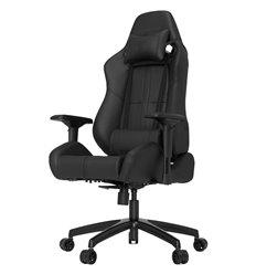 Кресло Vertagear S-Line SL5000 Black/Carbon компьютерное игровое, экокожа, цвет черный