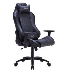 Кресло TESORO Zone Balance F710 Black компьютерное игровое, экокожа, цвет черный