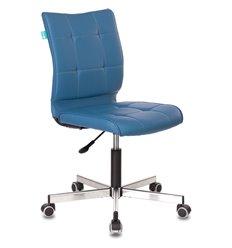 Кресло Бюрократ CH-330M/OR-03 для оператора, экокожа, цвет синий