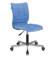 Кресло Бюрократ CH-330M/VELV86 для оператора, ткань, цвет голубой