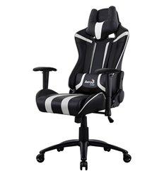 Кресло AeroCool AC120C AIR-BW, геймерское, экокожа, цвет черный/белый