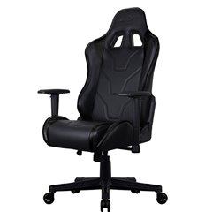 Кресло AeroCool AC220C AIR-B, геймерское, экокожа, цвет черный