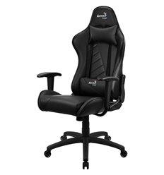 Кресло AeroCool AC110 AIR All black, геймерское, экокожа, цвет черный