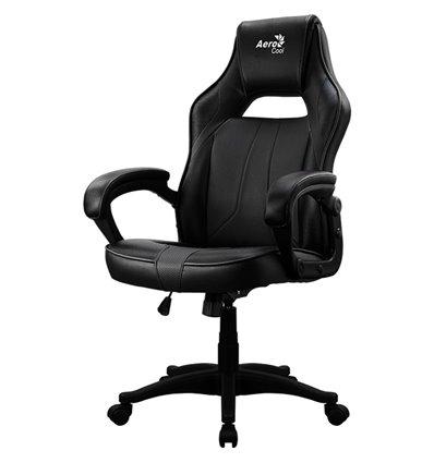 Кресло AeroCool AC40C AIR black, геймерское, экокожа, цвет черный
