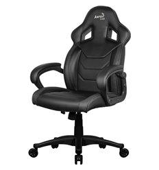 Кресло AeroCool AC60C AIR-B, геймерское, экокожа, цвет черный
